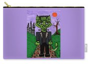 Frankenstein Cat Carry-all Pouch