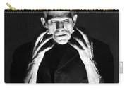 Frankensteins Monster Boris Karloff Carry-all Pouch