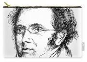 Franz Schubert (1797-1828) Carry-all Pouch