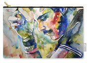 Freddie Mercury Watercolor Carry-all Pouch