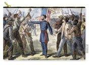 Freedmens Bureau, 1868 Carry-all Pouch
