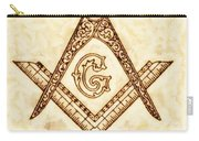 Freemason Symbolism By Pierre Blanchard Carry-all Pouch