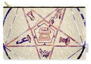 Freemason Symbolism Carry-all Pouch