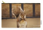 French Fry Eating Squirrel Carry-all Pouch