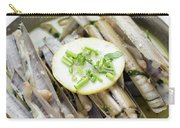 Fresh Razor Shell Seafood Steamed In Garlic Herb Wine Sauce Carry-all Pouch