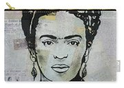 Frida Kahlo Press Carry-all Pouch