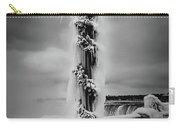 Frozen Over Niagara Falls Carry-all Pouch