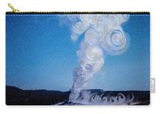 Full Moon And Old Faithful Carry-all Pouch