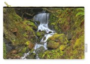 Streaming Through Rainforest Rubble Carry-all Pouch