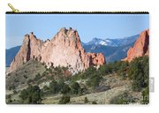 Garden Of The Gods Park In Colorado Springs In The Morning Carry-all Pouch