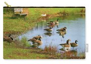 Geese Lake Fall  Carry-all Pouch