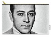 George Raft, Vintage Actor By Js Carry-all Pouch