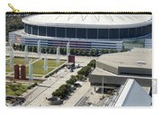 Georgia Dome In Atlanta Carry-all Pouch