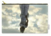 Girl And The Sky Carry-all Pouch by Joana Kruse