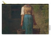 Girl Carrying Water Carry-all Pouch