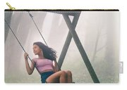 Girl In Swing Carry-all Pouch