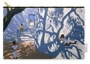 Girl On A Swing India Carry-all Pouch by Andrew Macara