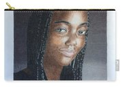 Girl With Braids Carry-all Pouch