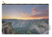 Glacier Point Sunset  Carry-all Pouch