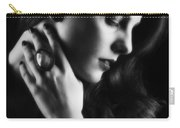 Glamorous Woman Carry-all Pouch