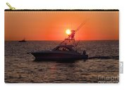 Going Fishing - Silhouette Carry-all Pouch