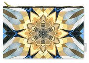 Golden Flower Abstract Carry-all Pouch