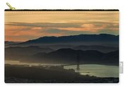 Golden Gate Bridge And San Francisco Bay At Sunset Carry-all Pouch