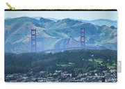 Golden Gate Bridge View From Twin Peaks San Francisco Carry-all Pouch