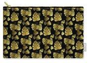 Golden Tropics Pattern Carry-all Pouch