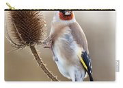 Goldfinch On Teasle Carry-all Pouch