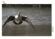 Goose In Flight Carry-all Pouch