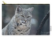Gorgeous Bobcat's Face Up Close Carry-all Pouch