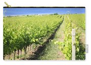 Grapevines In A Vineyard Carry-all Pouch