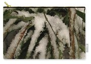 Grass In Snow 2 Carry-all Pouch