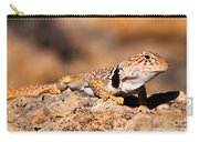 Great Basin Collared Lizard Carry-all Pouch