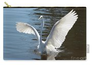 Great Egret Wings Carry-all Pouch