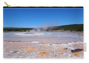 Great Fountain Geyser In Yellowstone National Park Carry-all Pouch