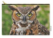 Great Horn Owl Nature Educator Carry-all Pouch