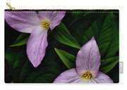Great White Trillium  Carry-all Pouch