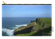 Green Grass On The Sea Cliff's In Ireland Carry-all Pouch