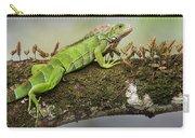 Green Iguana Iguana Iguana, Tarcoles Carry-all Pouch