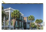 Columns By The Sea Carry-all Pouch