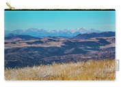 Grouse Mountain And Sangre De Cristo Carry-all Pouch