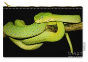 Guatemala Palm Pitviper Carry-all Pouch