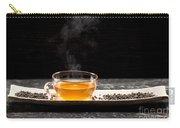 Gunpowder Green Tea In Glass Teapot Carry-all Pouch