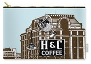 H And C Coffee Sign Roanoke Virginia Carry-all Pouch