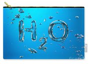 H2o Formula Made By Oxygen Bubbles In Water Carry-all Pouch