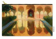 Hall Of The Ambassadors -  Alhambra Granada Carry-all Pouch