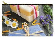 Handmade Soaps With Herbs Carry-all Pouch