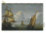 Hans Goderis Dutch Shipping At Sea, 1615 Carry-all Pouch